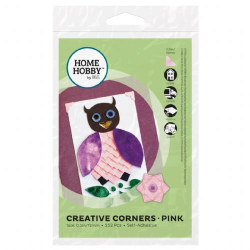HOMEHOBBY by 3L Creative Corners Pink
